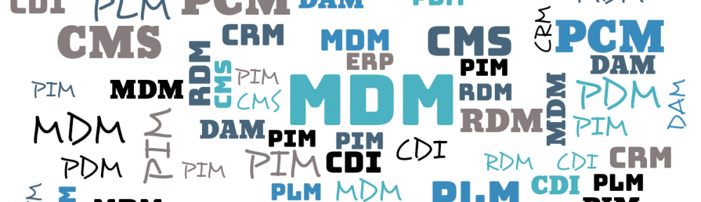 The Disruptive MDM / PIM List | Compare vendors, solutions and